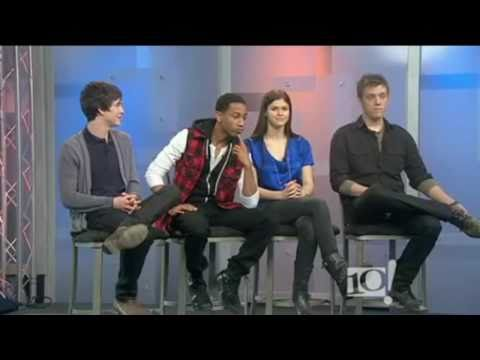 Percy Jackson & the Olympians: The Lightning Thief Cast Interview - 21/01/2010