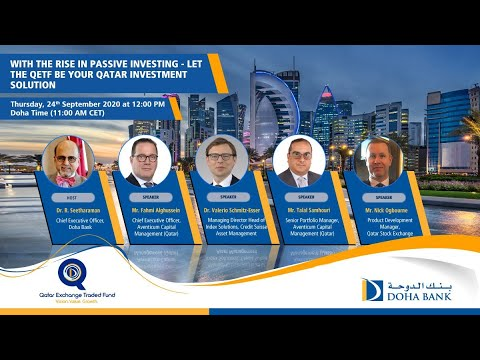 With the rise in Passive Investing – Let the QETF be your Qatar Investment Solution