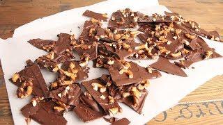 3 Ingredient Sea Salted Chocolate Pretzel Bark | Episode 1211 by Laura in the Kitchen