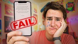 Video My $1100 iPhone X Fail... MP3, 3GP, MP4, WEBM, AVI, FLV November 2017