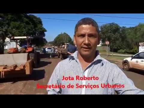 Prefeitura intensifica trabalho de tapa buracos em Amambai