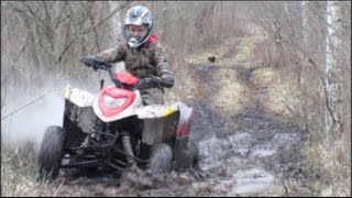 4. ATV TRAIL RIDING POLARIS PHOENIX 200