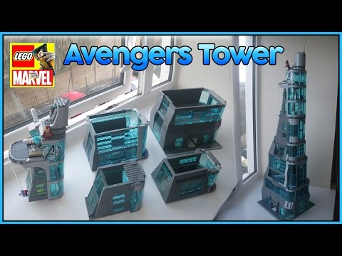 Stark Tower Lego Lego Avengers Tower Moc