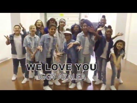 Iggy Azalea - TEAM (Dance Video) Kids Cover