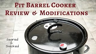Pit Barrel Review and Mods
