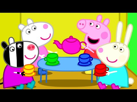 Peppa Pig - Peppa plays with friends (35 minutes compilation) (видео)
