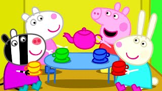 Bigues Spain  city photo : Peppa Pig - Peppa plays with friends (35 minutes compilation)
