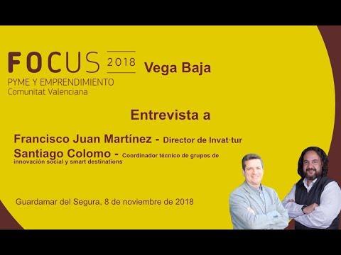 Entrevista a Francisco Juan y Santiago Colomo en Focus Pyme Vega Baja