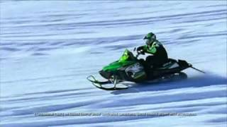 8. 2010 Arctic Cat Fastest production Snowmoblies
