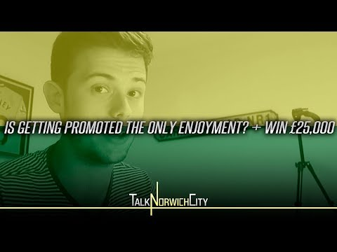 IS GETTING PROMOTED THE ONLY ENJOYMENT? + WIN £25,000
