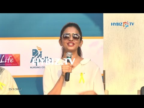 , Rakul Preet Singh-Apollo Hospitals ENDOMARCH