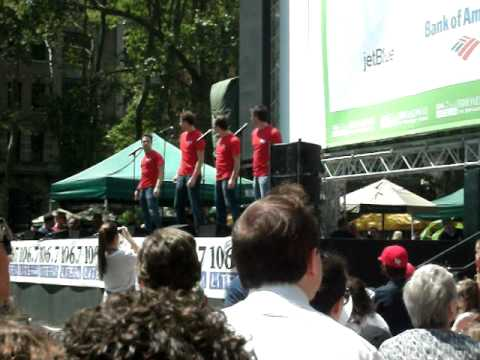 Broadway in Bryant Park 8/4/2011- Jersey Boys (Medley)