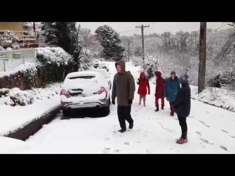 australia: la più grande nevicata degli ultimi anni!