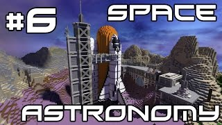 Minecraft Space Astronomy - Progress and Power Armour?! #6
