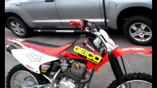 1. Mint 2007 Honda CRF230F Start Up And Walk Around