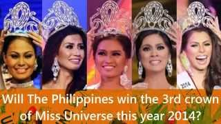 Video Will The Philippines win the 3rd crown of Miss Universe in 2014? MP3, 3GP, MP4, WEBM, AVI, FLV Juli 2018
