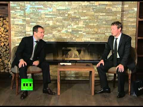 Встреча Медведева и Цукерберга