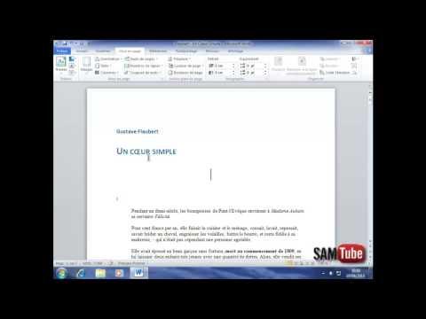 comment augmenter l'espace entre les mots dans word