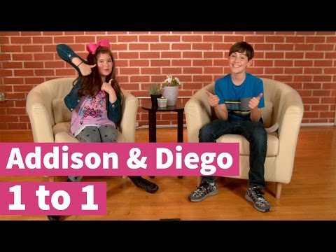 Who's the better Thunderman? Kira or Jack? Addison & Diego 1 to 1!