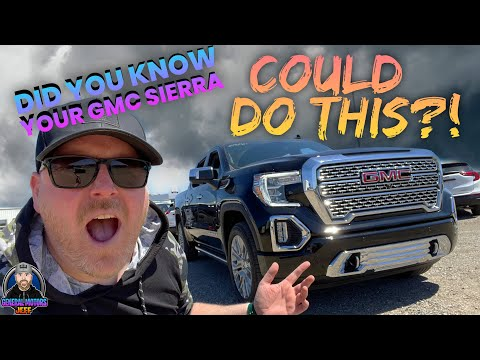 DID YOU KNOW YOUR GMC SIERRA COULD DO THIS?!