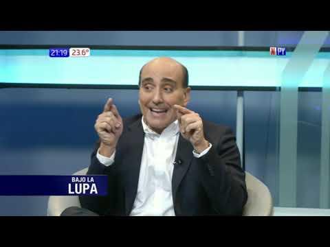 Carlos Mateo Balmelli y Nicanor Duarte Frutos en Bajo la Lupa / 16 - 04 - 2018
