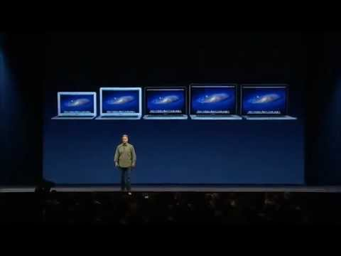 WWDC 2012 keynote - Apple introduces all new MacBook Pro with Retina Display at WWDC 2012 Part 2/2.