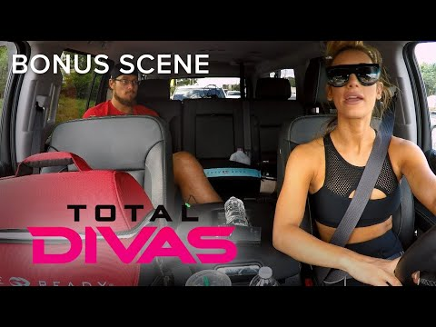 Total Divas | Carmella & Big Cass Leave Orlando for Their New Home | E!
