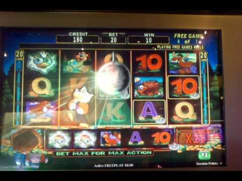 High Limit super hoot loot bonus round Big win! Slot machine