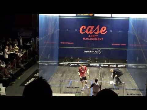 Swedish Open in Squash 2014 - Semi Final