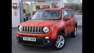 Video Jeep Renegade 1.6 Multijet Longitude 5dr - Delivery Miles (YT67HFM) MP3, 3GP, MP4, WEBM, AVI, FLV Oktober 2017