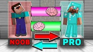 Video Minecraft NOOB vs PRO : BRAIN EXCHANGE! NOOB BECAME a PRO in Minecraft! Animation! MP3, 3GP, MP4, WEBM, AVI, FLV Juni 2019