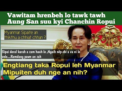 Vawitam hren lo tawk tawh Aung San suu kyi Chanchin Ropui | Opeey-a Khiangte | Myanmar sipai thikthu