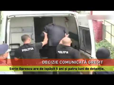 Eroare în sentința lui Sorin Oprescu