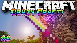 """""""The Ultimate Sword!"""" - CRAZY CRAFT (MINECRAFT MODDED SURVIVAL) - #8"""