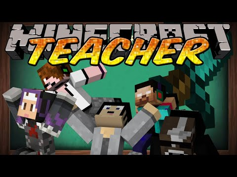 Minecraft Mini-Game Teacher w/Deadlox, Gizzy Gazza & More - Today's lesson: Redstone!