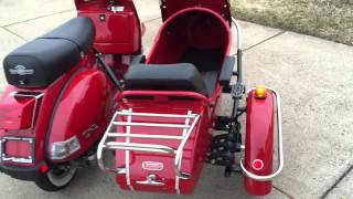 7. 2012 Genuine Stella 150 with Sidecar For Sale!