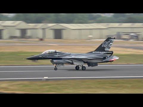 2 General Dynamics F-16AM Fighting...