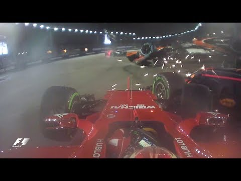 Singapore's Start-line Crash: All The Camera Angles