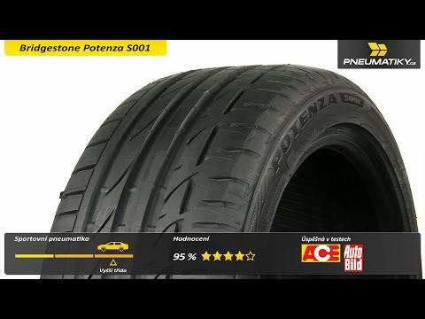 Youtube Bridgestone Potenza S001 245/45 R17 95 W Letní
