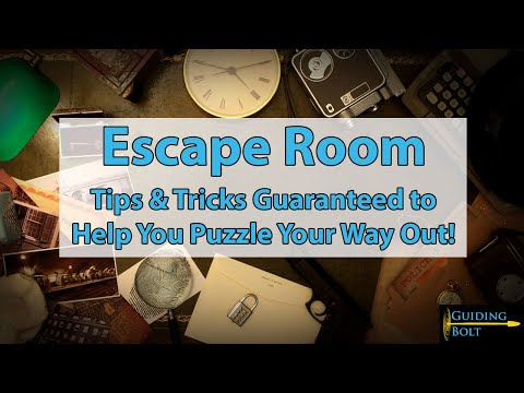 Escape Room Tips & Tricks Guaranteed To Help You Get Out!