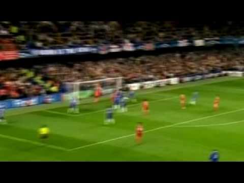 Goles de Kuyt en el Liverpool