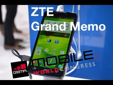 MWC 2013 Probamos el ZTE Grand Memo