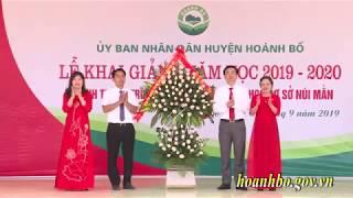 Lễ khai giảng năm học 2019 2020; Khánh thành trường Tiểu học và THCS Núi Mằn