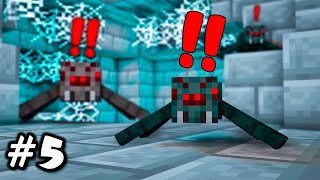 "• Minecraft Super Iceolation - Ep. 5 - ""THE SPIDERS THAT ALMOST KILLED ME!"" •"