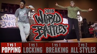 Kriss vs Charcy – HHI2016 World Popping Battles Top 16