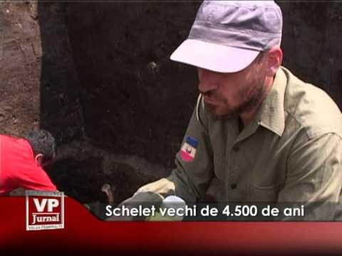 Schelet vechi de 4.500 de ani