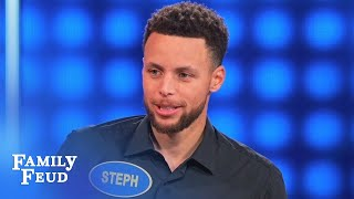 Video Don't forget Popeye's package Steph! | Celebrity Family Feud MP3, 3GP, MP4, WEBM, AVI, FLV Juni 2018