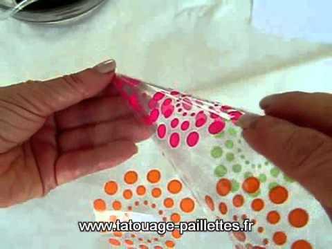 comment appliquer le henné avec pochoir