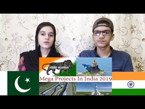Mega Projects In India|Pakistani Reaction |