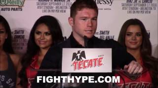CANELO ALVAREZ VS. LIAM SMITH POST-FIGHT PRESS CONFERENCE